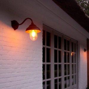 koperen buitenlamp