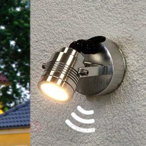 Zeer LED buitenlamp met sensor | Buitenverlichtingtips.nl SR22
